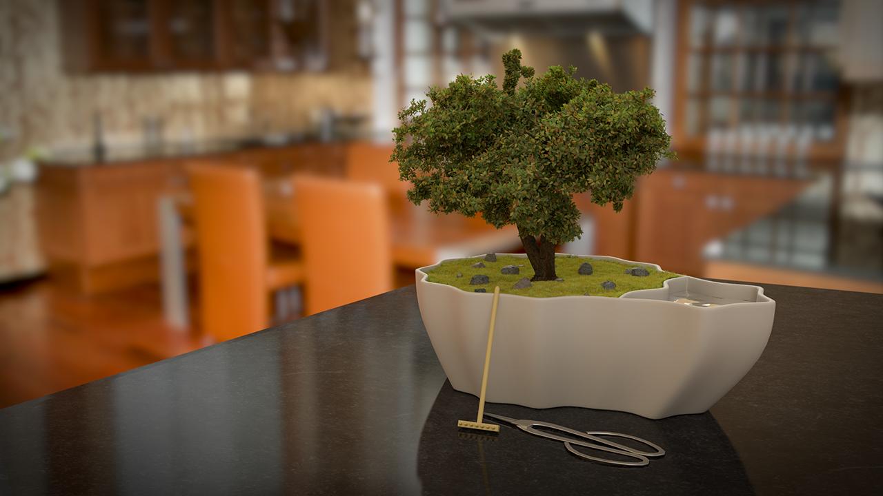 Grass & Tree